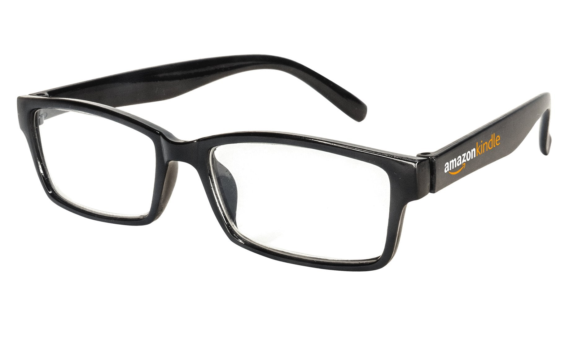 9898 - Black Squared Readers Eyeglasses