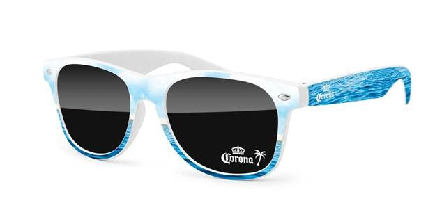 RD560 - Retro Promotional Sunglasses w/ 1-color lens imprint & full-color frame