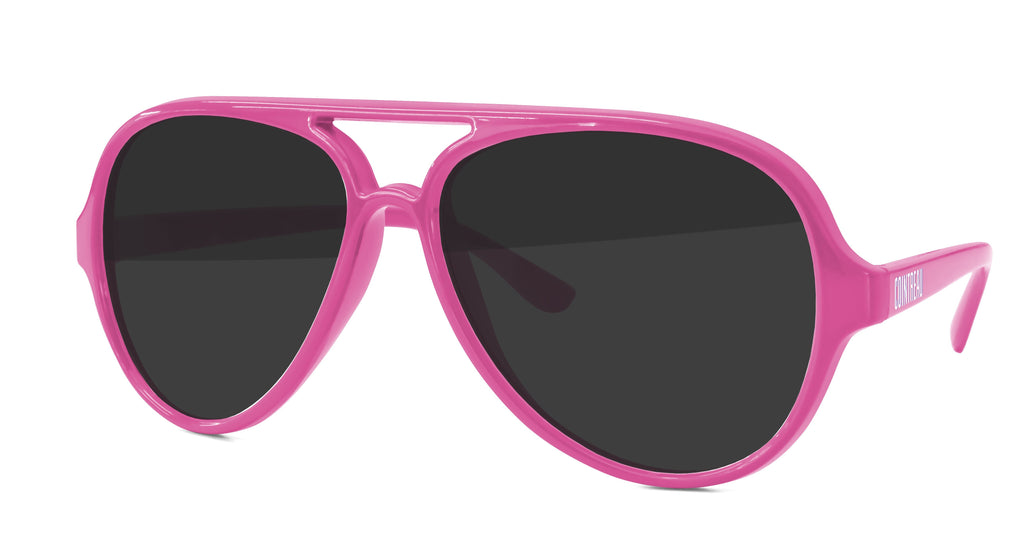 AD010 - Aviator Promotional Sunglasses w/ 1-color temple imprint