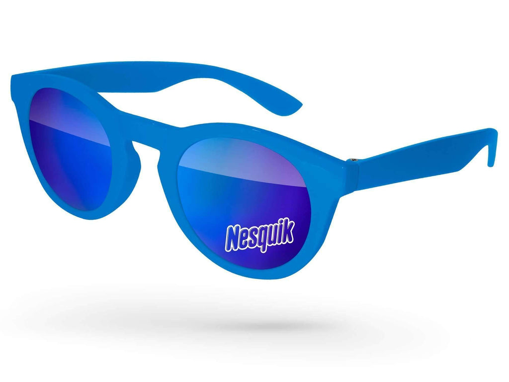 Andy Mirror Promotional Sunglasses w/ 1-color lens imprint