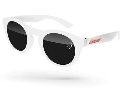 Andy Promotional Sunglasses w/ 1-color lens imprint & full-color temple imprint