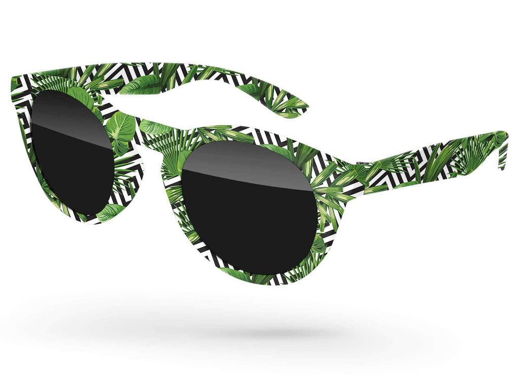DD090 - Andy Promotional Sunglasses w/ full-color full-frame sublimation wrap