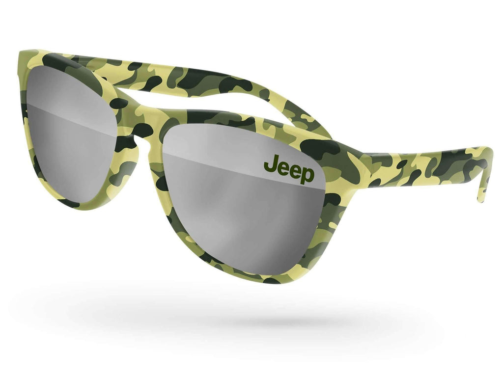 Automotive - Frog Mirror Promotional Sunglasses w/ 1-color lens imprint & full-color full-frame sublimation wrap