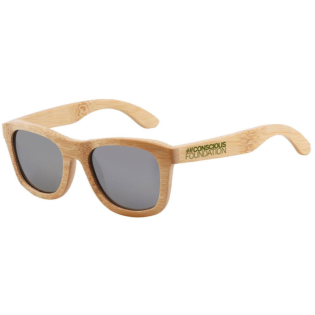 Bamboo - Dark Lenses Promotional Sunglasses