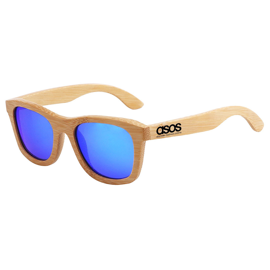 Bamboo - Mirrored Lenses Promotional Sunglasses
