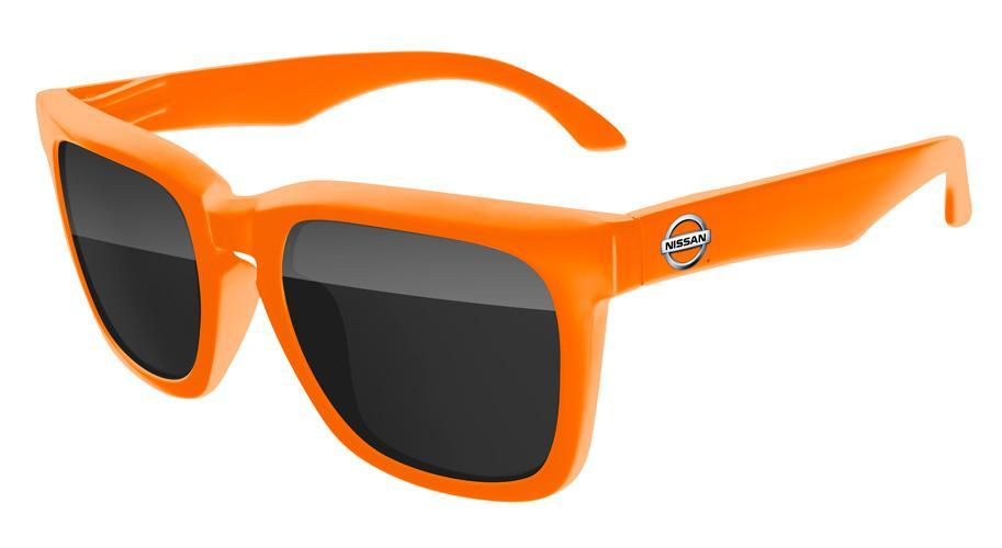 BD020 - Bold Promotional Sunglasses w/ full-color temple imprint