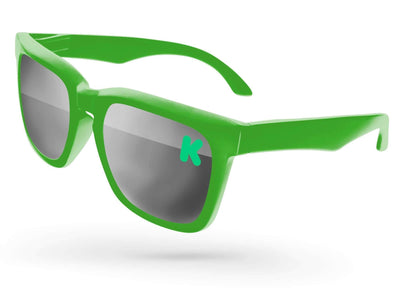 Bold Mirror Promotional Sunglasses w/ 1-color lens imprint