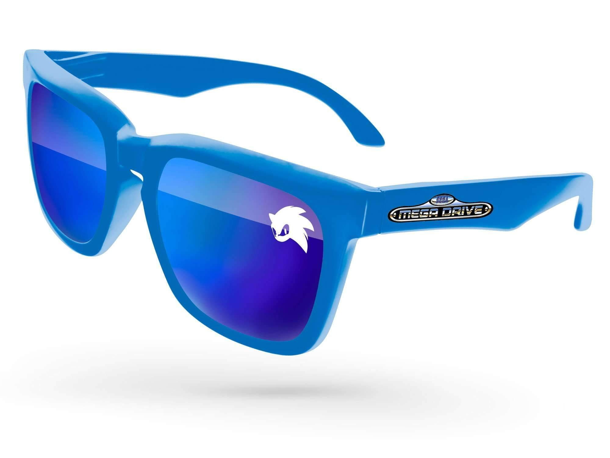 Bold Mirror Promotional Sunglasses w/ 1-color lens imprint & full-color temple imprint