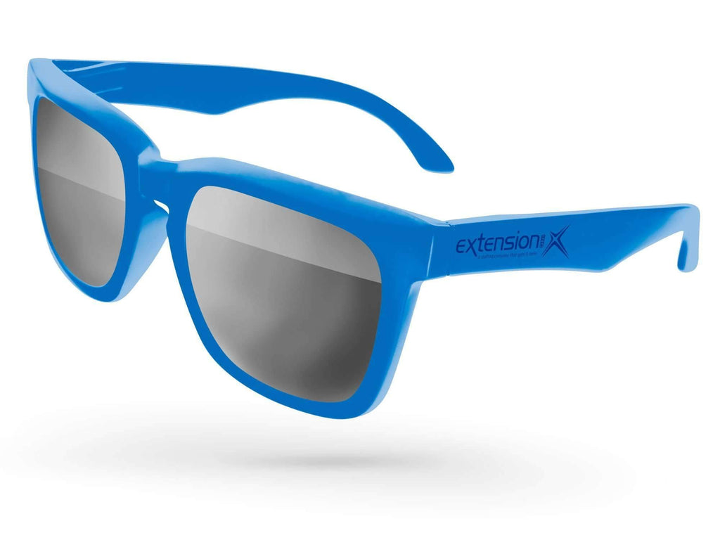 BM010 - Bold Mirror Promotional Sunglasses w/ 1-color temple imprint