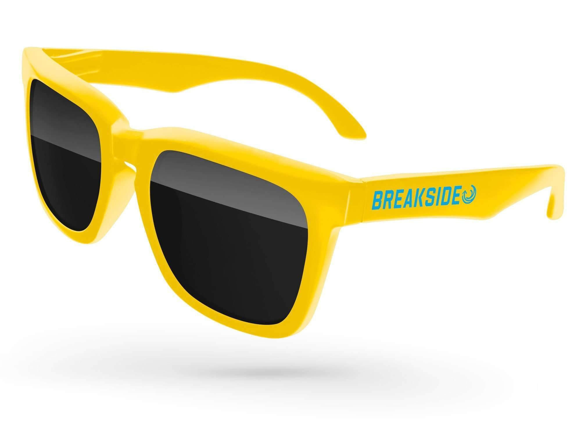 BD010 - Bold Promotional Sunglasses w/ 1-color temple imprint