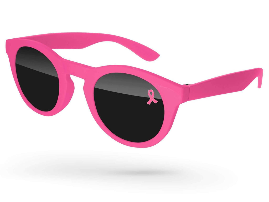 DD500 - Breast Cancer Awareness Andy Promotional Sunglasses w/ 1-color lens imprint