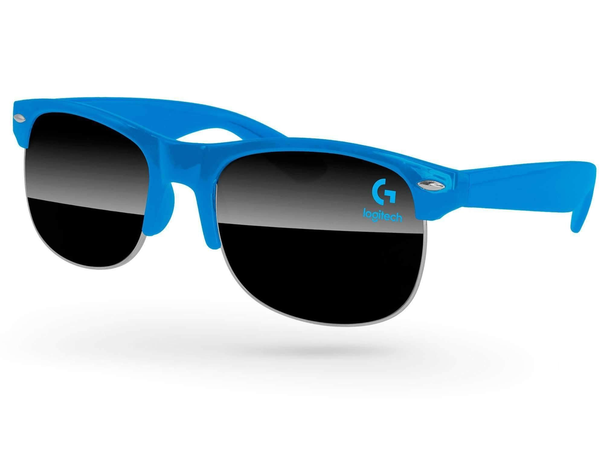 Club Promotional Sunglasses w/ 1-color lens imprint