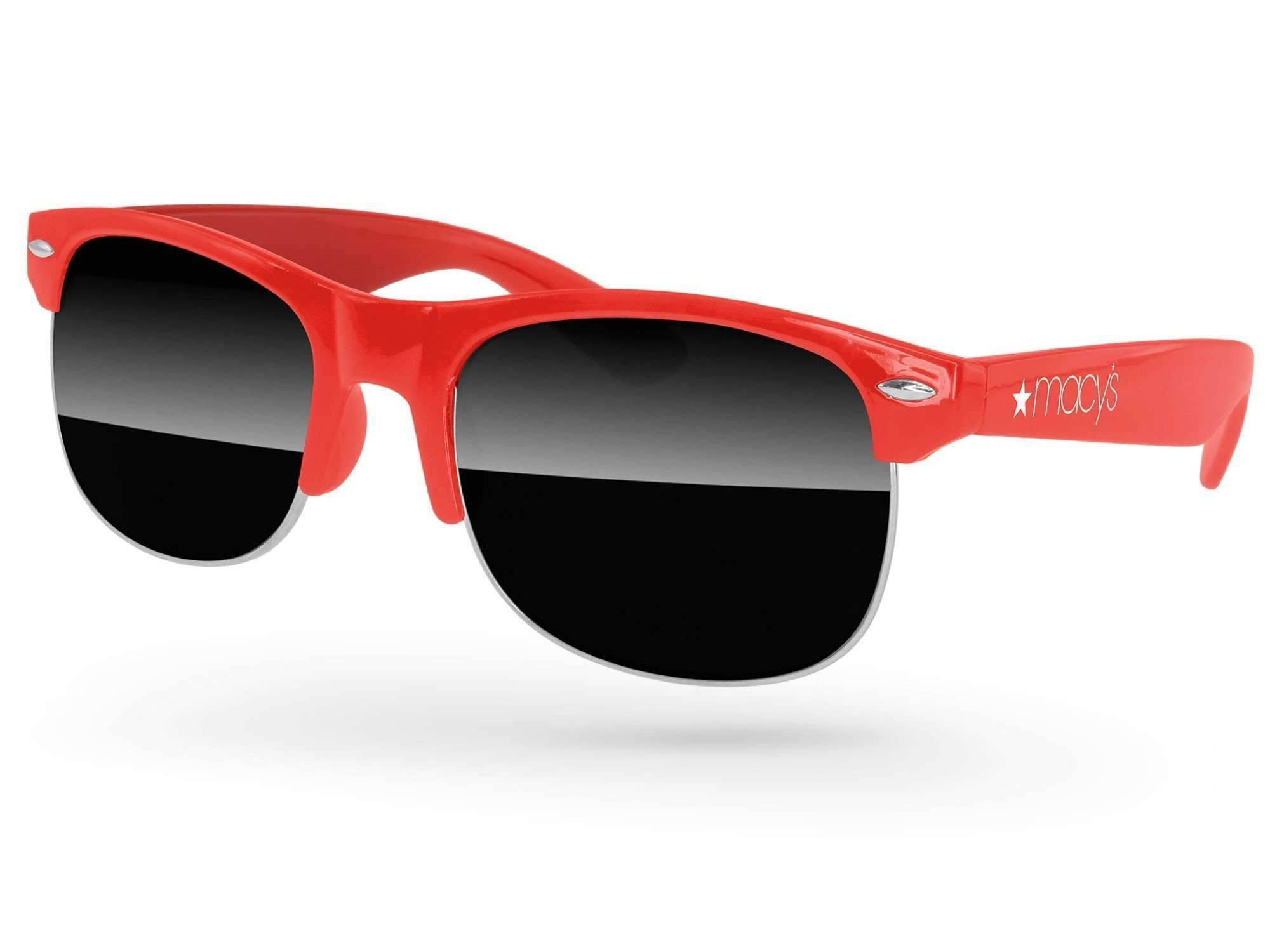 Club Promotional Sunglasses w/ 1-color temple imprint