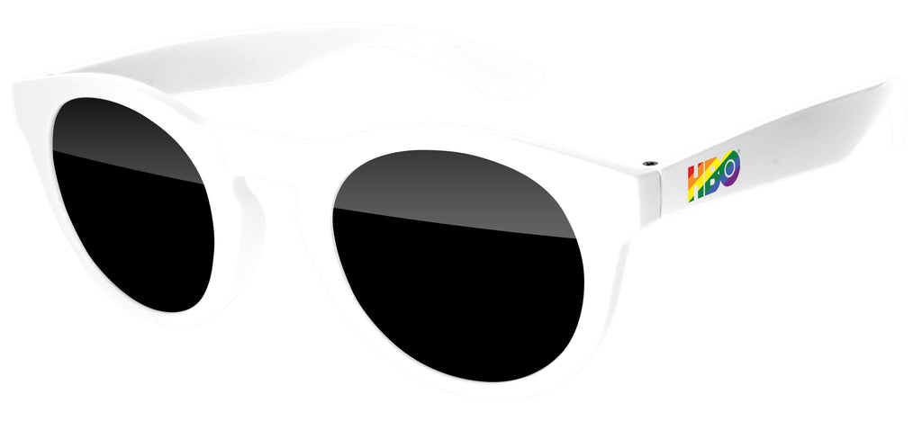 DD020 - Pride Andy Promotional Sunglasses w/ full-color temple imprint