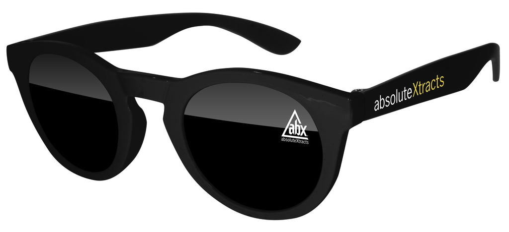 DD510 - Andy Promotional Sunglasses w/ 1-color lens & temple imprints