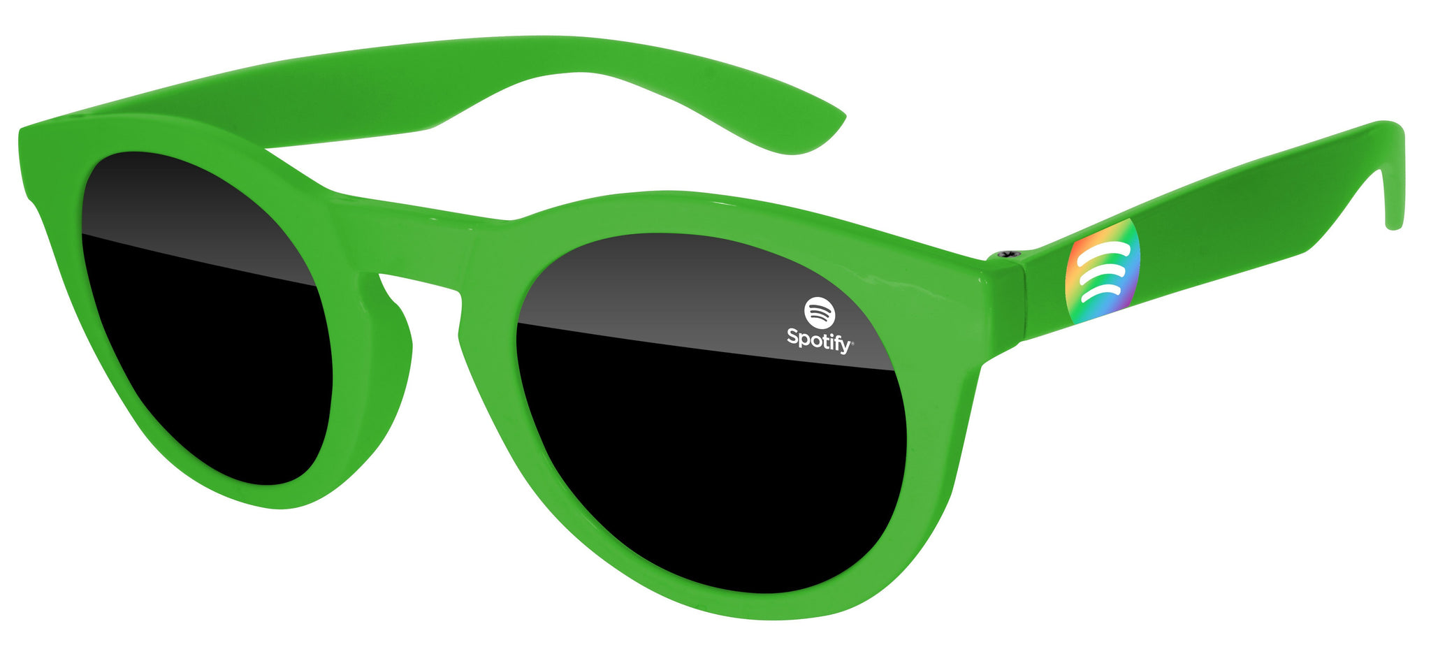 DD520 - Pride Andy Promotional Sunglasses w/ 1-color lens imprint & full-color temple imprint