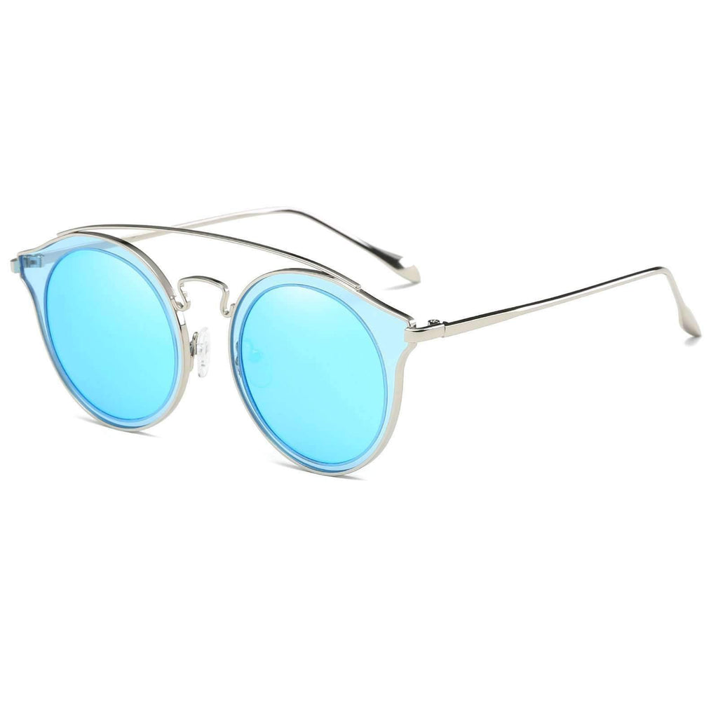 0878 - Double Bridged Polarized Lens Industrial Sunglasses
