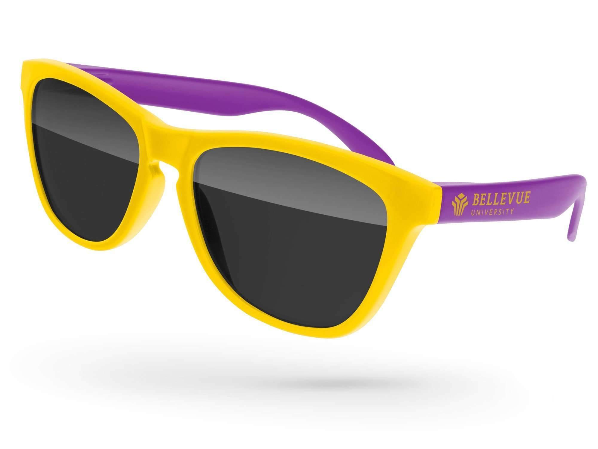 FD012 - Frog Promotional Sunglasses w/ 1-color temple imprint
