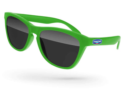 Frog Promotional Sunglasses w/ full-color temple imprint