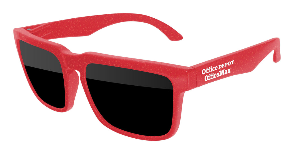 HD010-A - BPA Free Promotional Sunglasses w/1-color temple imprint