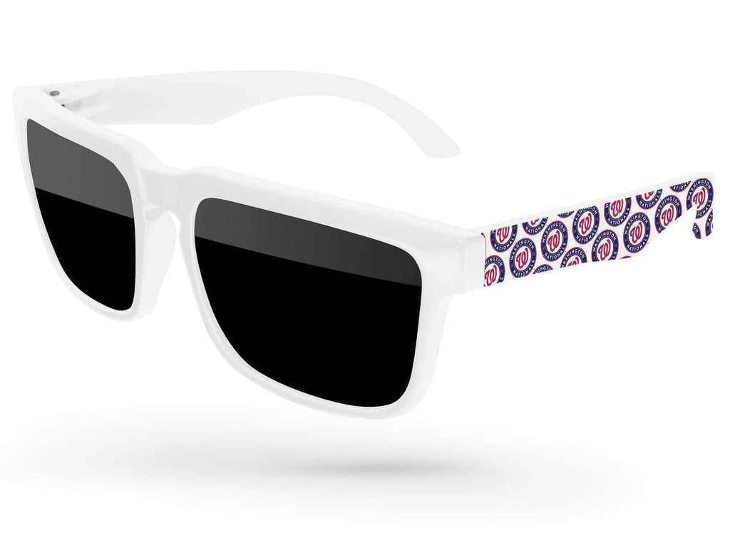HD050 - Heat Promotional Sunglasses w/ full-color arm heat transfer