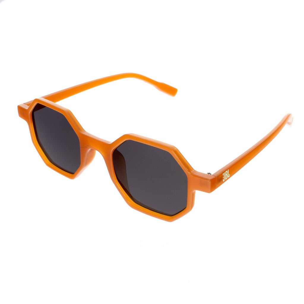 HEX-F Hexagon Frosted Promotional Sunglasses