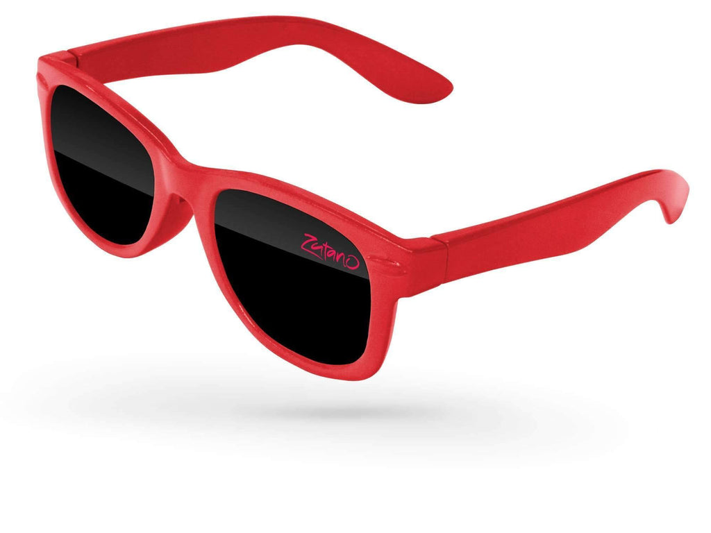 RD500-B - Infant Retro Promotional Sunglasses (0-3 years) w/ 1-color lens imprint