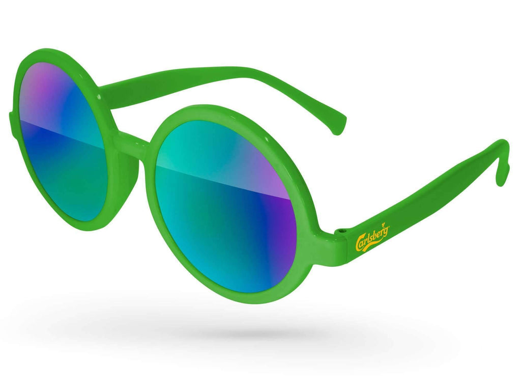 IM010 - Iris Mirror Promotional Sunglasses w/ 1-color temple imprint