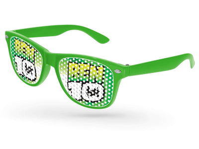 Kids Retro Pinhole Promotional Sunglasses (3 to 6 years)