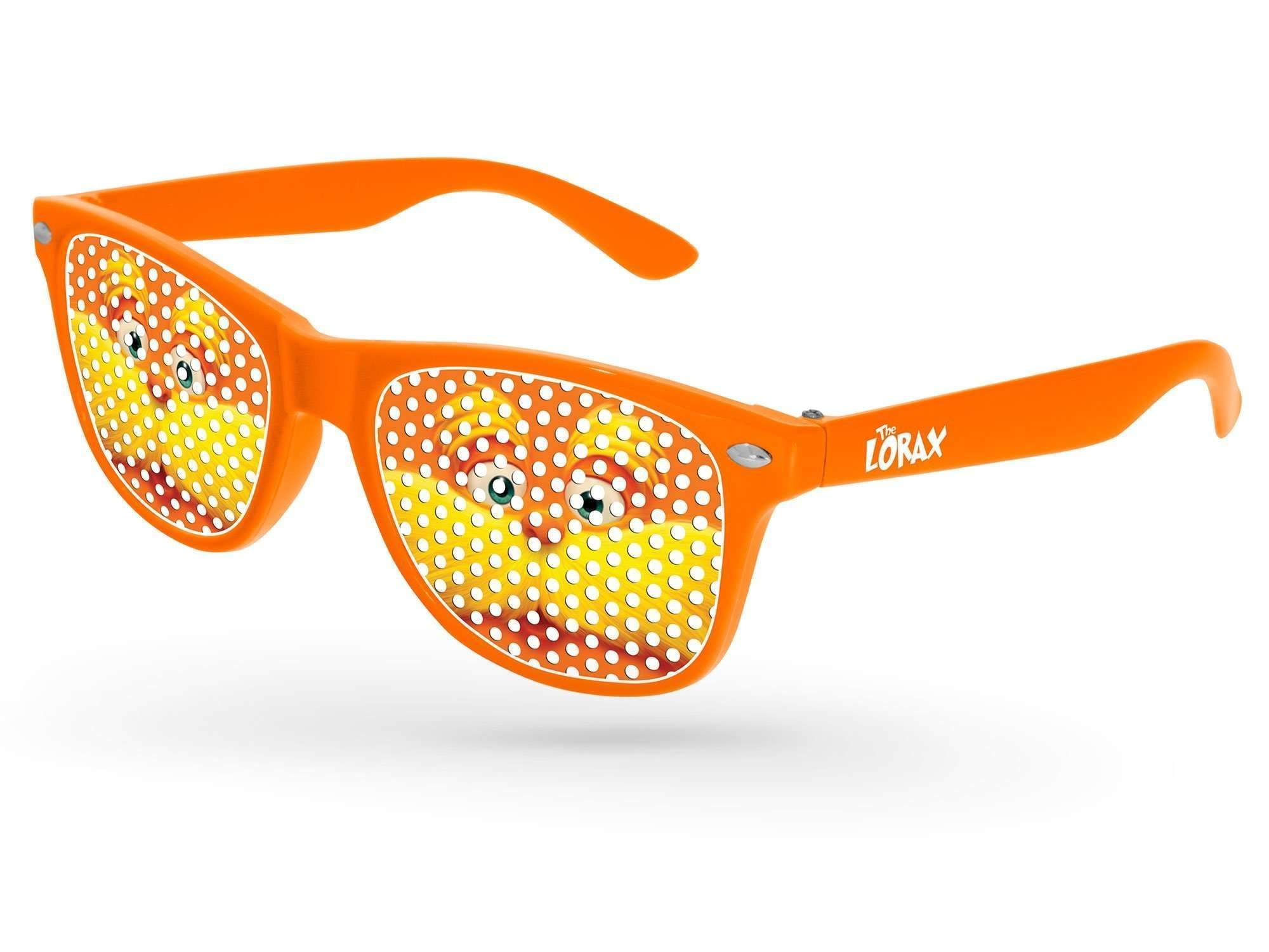 RC110-K - Kids Retro Pinhole Promotional Sunglasses (3 to 6 years) w/ 1-color temple imprint