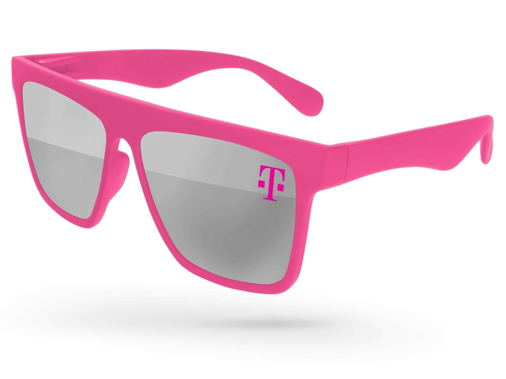 LM500 - Laser Mirror Promotional Sunglasses w/ 1-color lens imprint