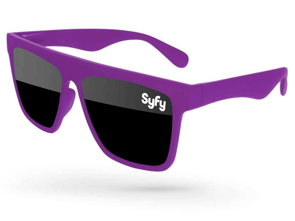 LD500 - Laser Promotional Sunglasses w/ 1-color lens imprint