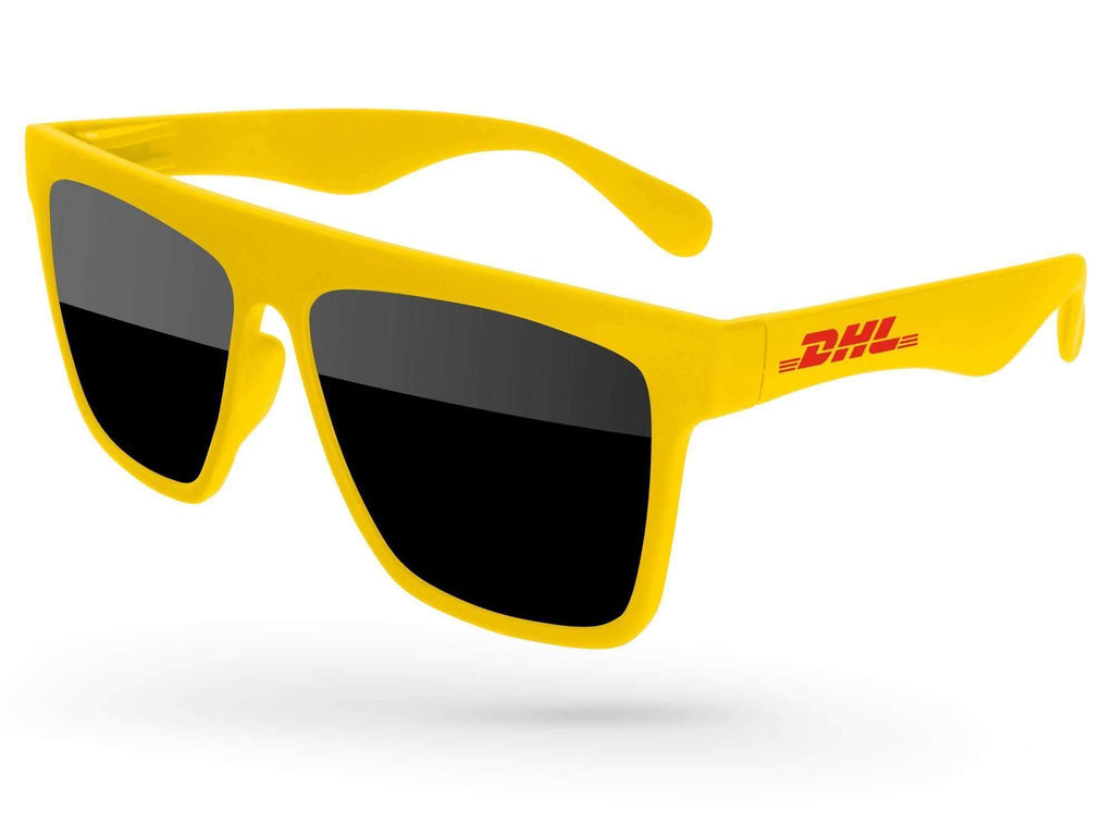 LD010 - Laser Promotional Sunglasses w/ 1-color temple imprint