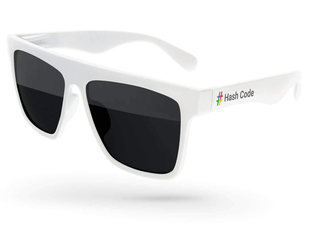 LD020 - Laser Promotional Sunglasses w/ full-color temple imprint