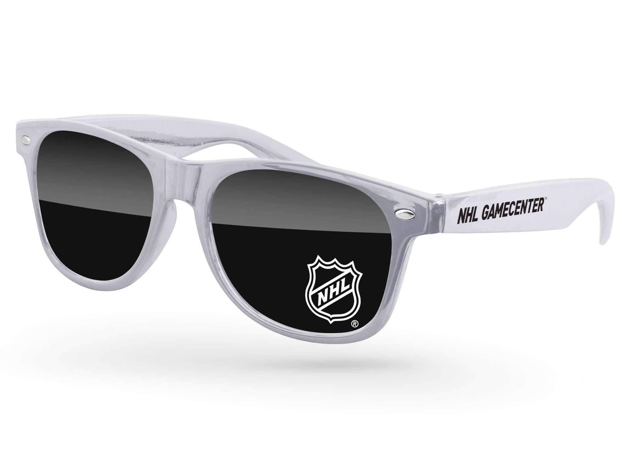RD510-M - Metallic Retro Promotional Sunglasses w/ 1-color lens imprint & 1-color temple imprint