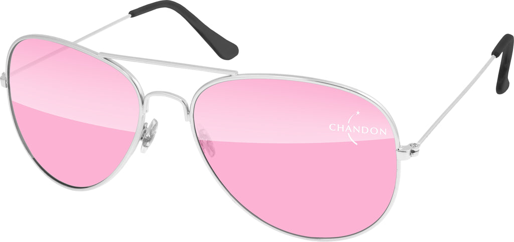 MT500 - Metal Aviator Promotional Sunglasses w/ 1-color lens imprint