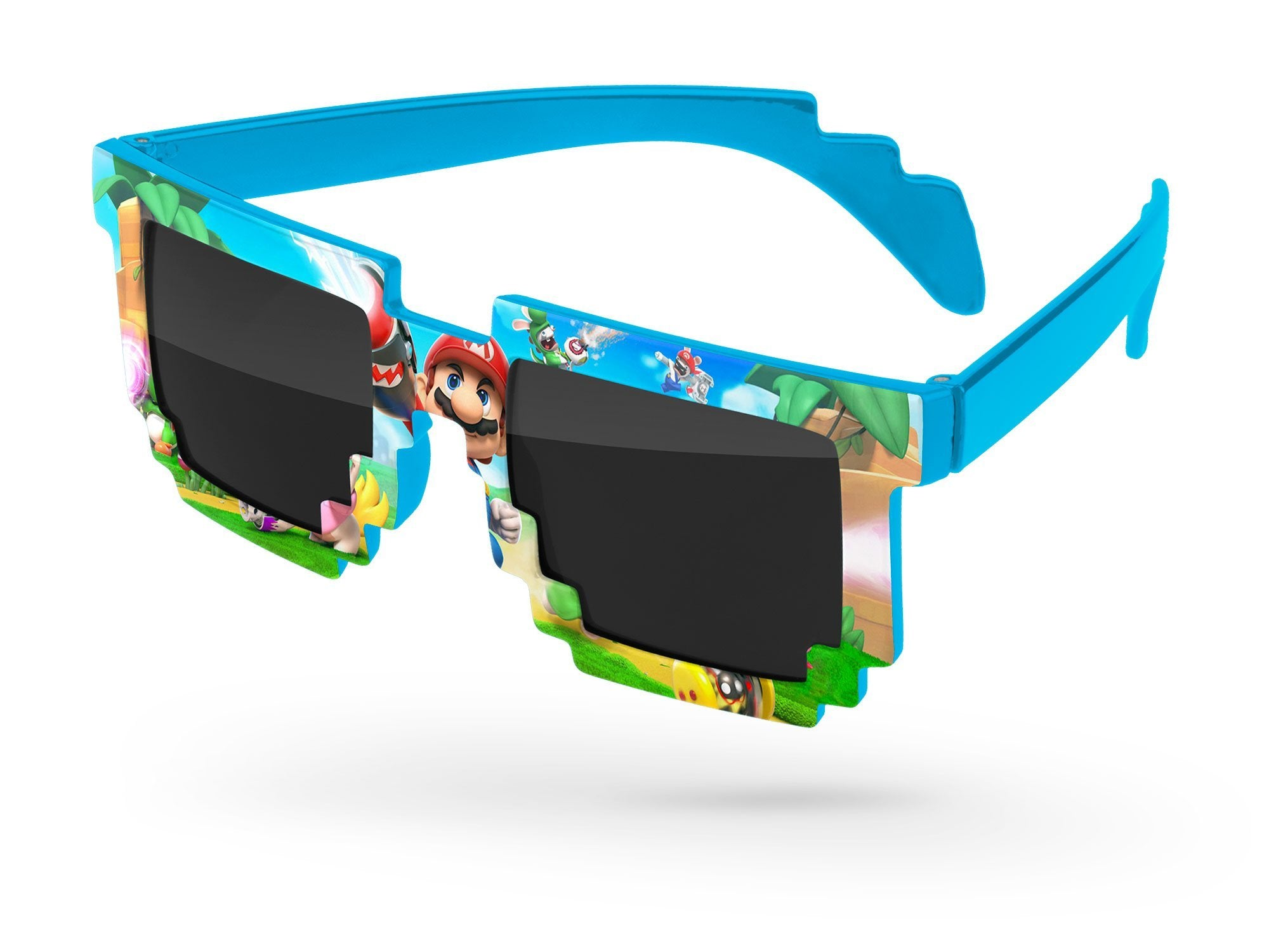 PD040 - Pixel Promotional Sunglasses w/ full-color full-front