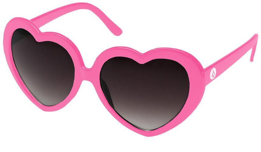 QD010 - Heart Promotional Sunglasses w/ 1-color temple imprint