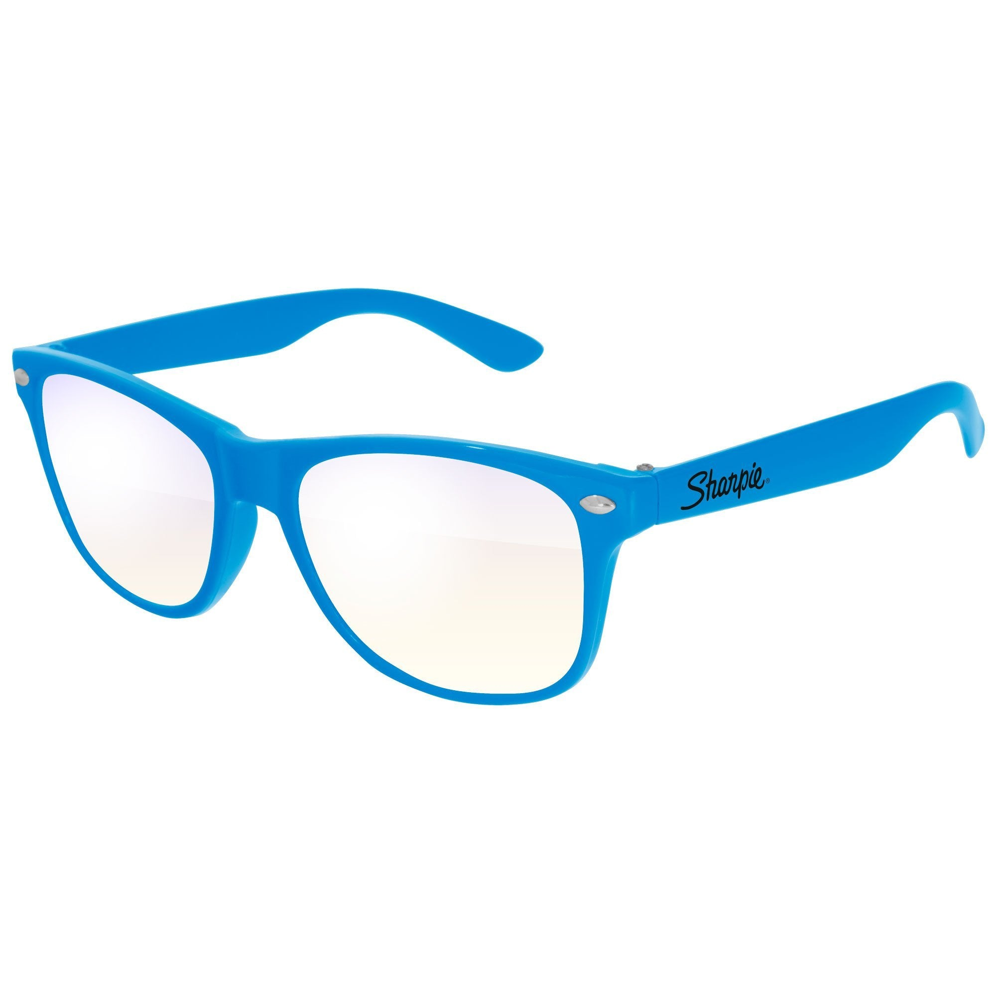 RB010-K -Kids Blue Light Blocking Retro Promotional Glasses w/ 1-color imprint