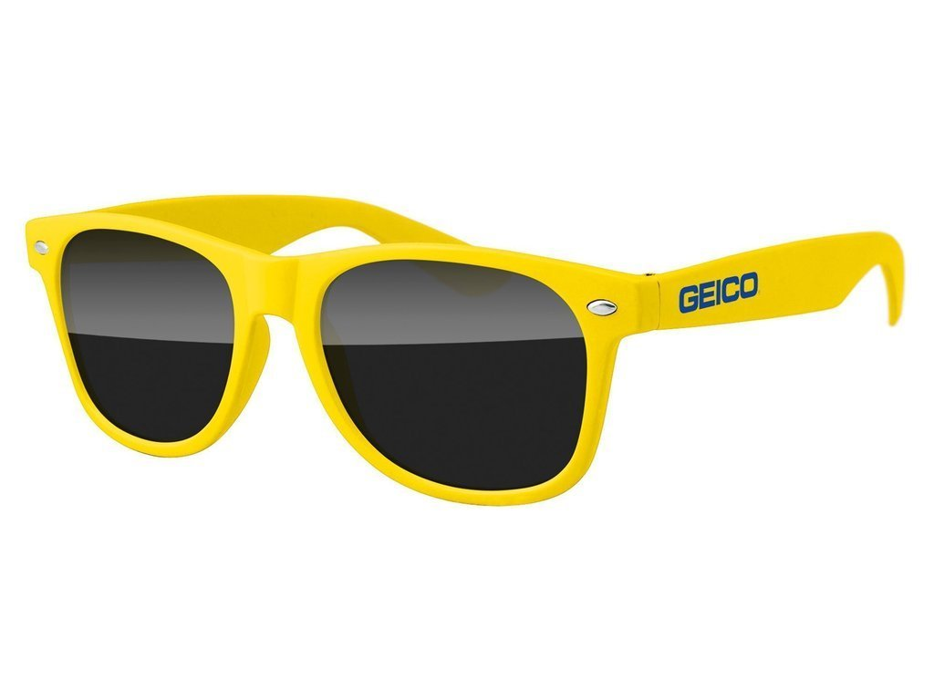 RD010-A - BPA Free Promotional Sunglasses w/1-color temple imprint
