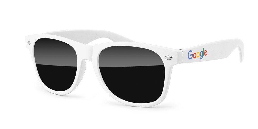 RD020 - Retro Promotional Sunglasses w/ full-color temple imprint
