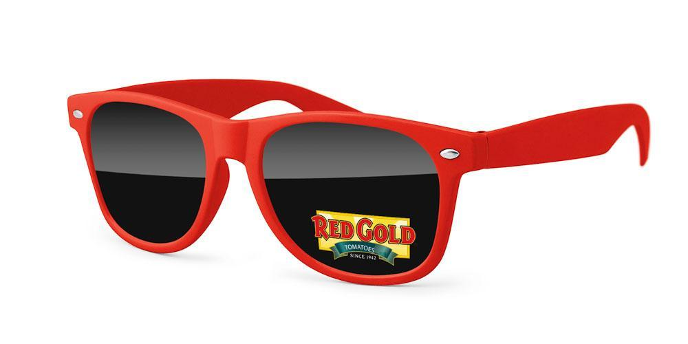 RD700 - Retro Promotional Sunglasses w/ full color lens imprint
