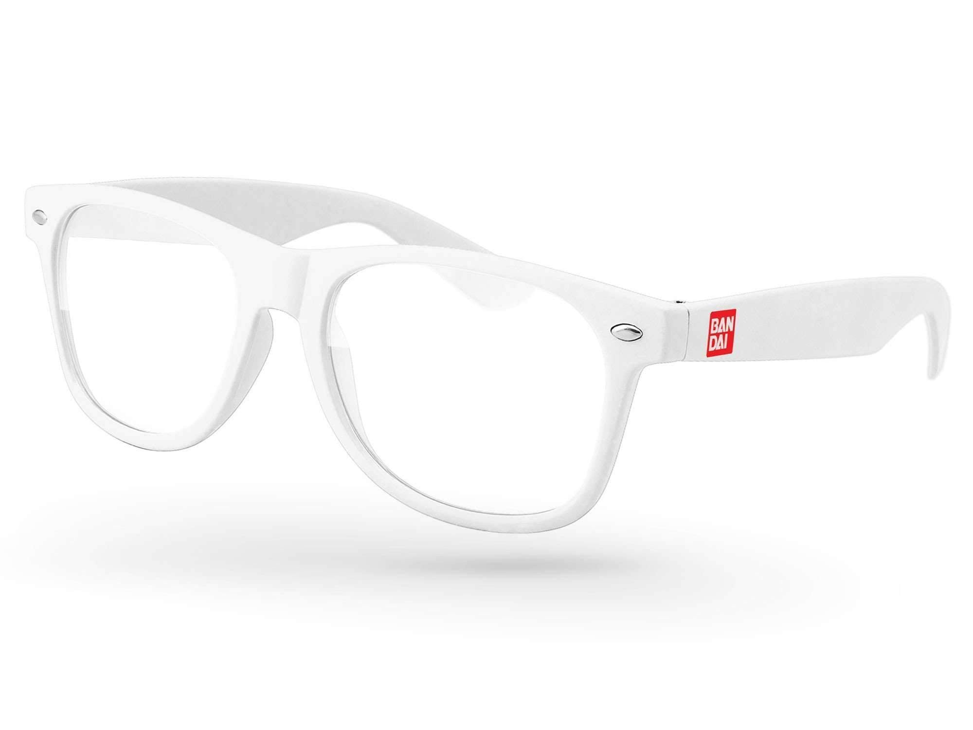 Retro Geek Glasses w/ 1-color temple imprint