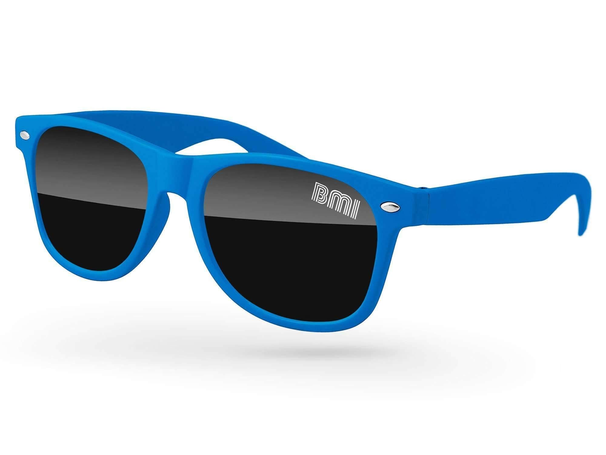 Retro Promotional Sunglasses w/ 1-color lens imprint