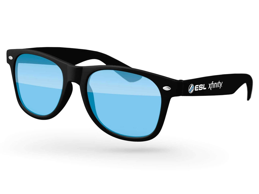 RT010 - Retro Promotional Sunglasses w/ 1-color temple imprint