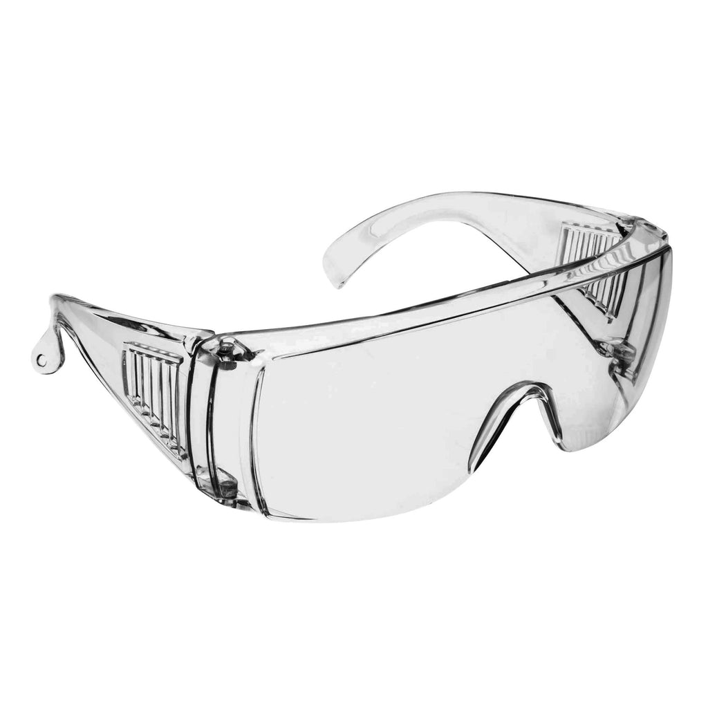 SF001 - Clear Safety Glasses W/Side Shield- ANSI Certified *Blank Pricing