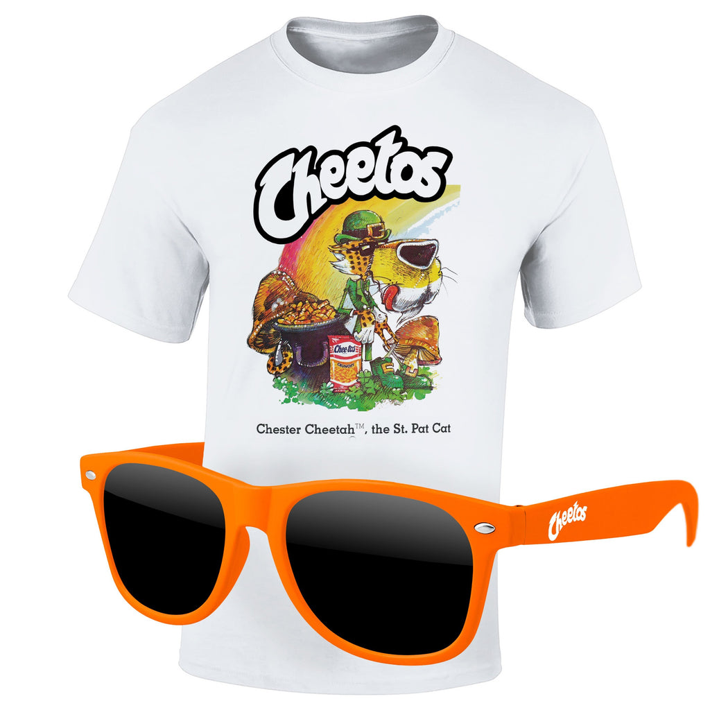 St Patrick's Day 4980-1KL16 - T-Shirt & Sunglasses Kit - Full-Color On White/Very Light T-Shirt (Up To 16x 20in)