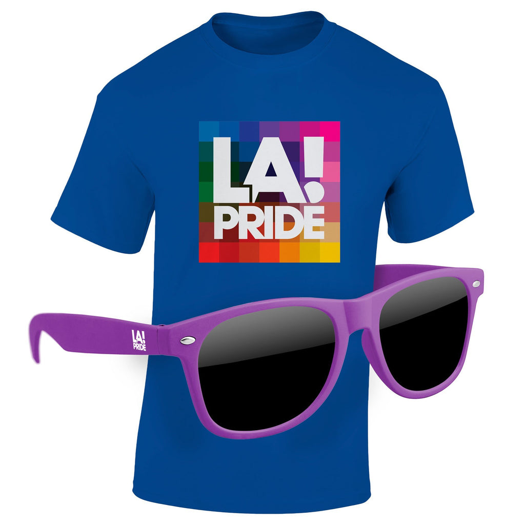 "T-Shirt & Sunglasses Kit - Full-Color On Color/Black T-Shirt (Up To 16"" x 20"")"