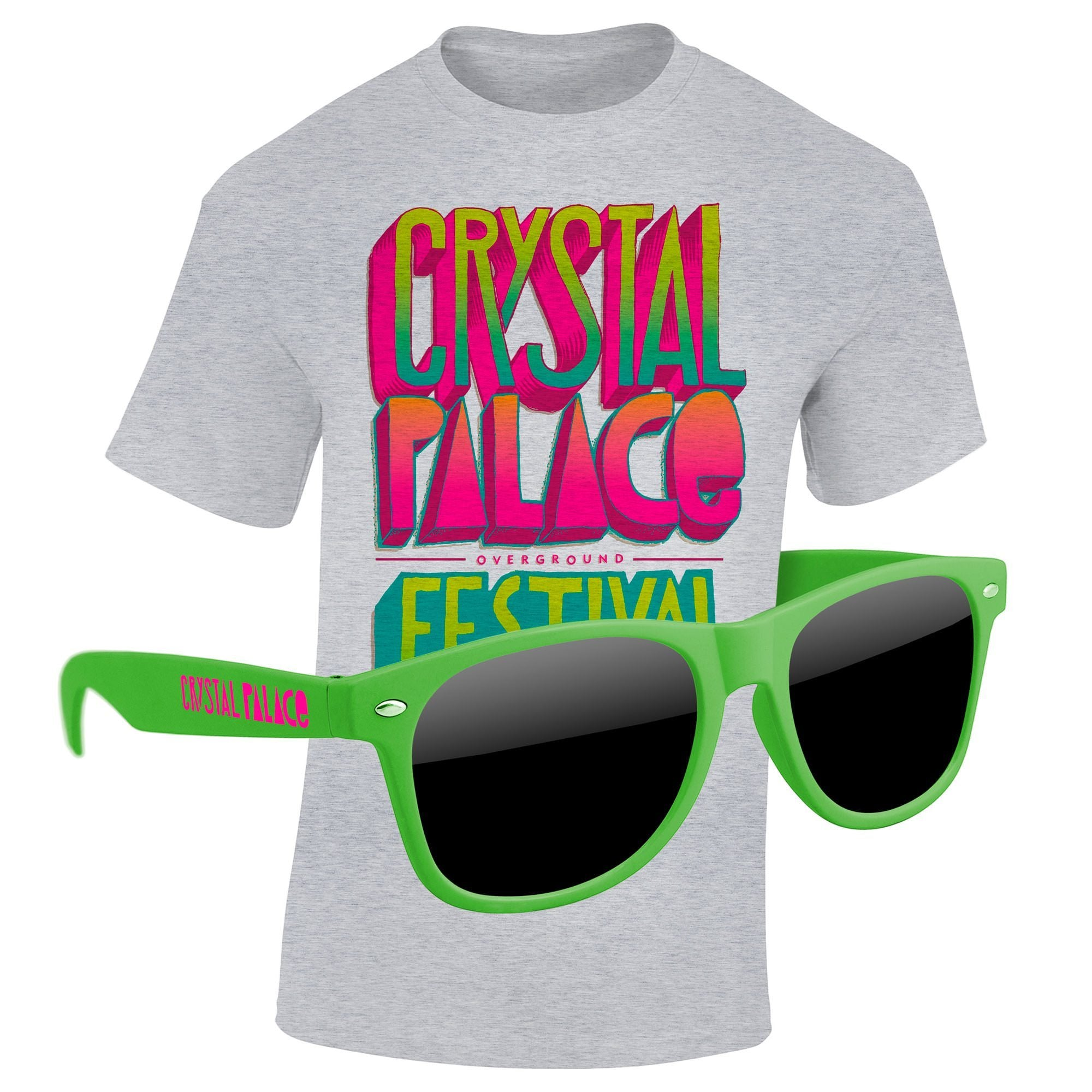 "4980-1KL14 - T-Shirt & Sunglasses Kit - Full-Color On White/Very Light T-Shirt (Up To 14"" x 16"")"