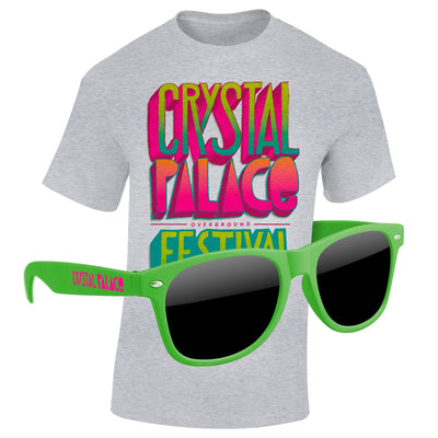 T-Shirt & Sunglasses Kit - Full-Color On White/Very Light T-Shirt (Up To 16x20in)